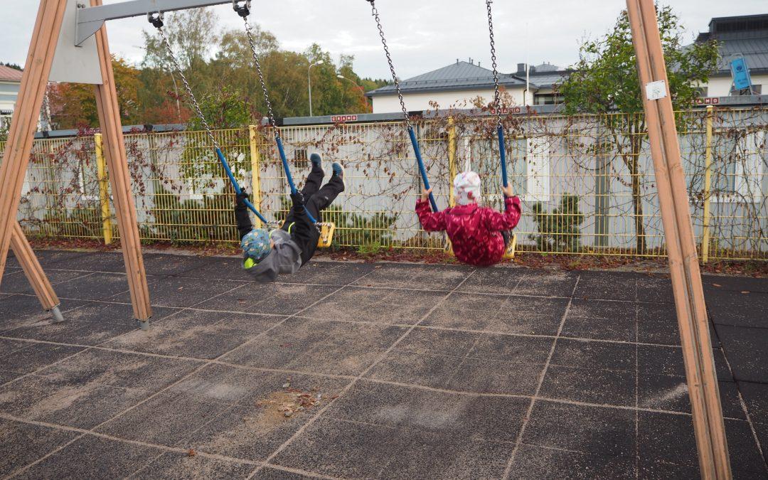 Lapsi on terve kun se leikkii – ja ottaa riskejä